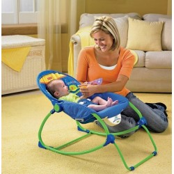 *T020-FP New Infant-to-Toddler Rocker (Blue) (inc tax)