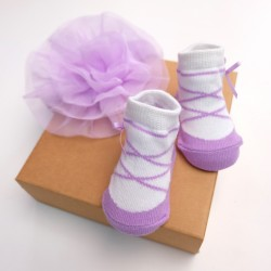 A242003-Socks + Hairband Set: Ballet Girl