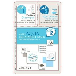 CEL'EVY  3IN1 Korean Facial Mask Skincare Pack.