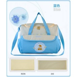 4110002- (Light Blue) Love Me Forever Mummy Bag