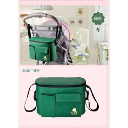 4110007- Multi Function Cooler Bag (GREEN)