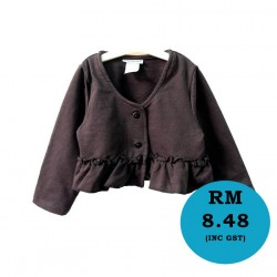 S323- Little Black Cardigan