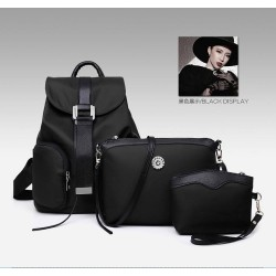 4110031 - High Quality 3 in 1 Backpack (BLACK)