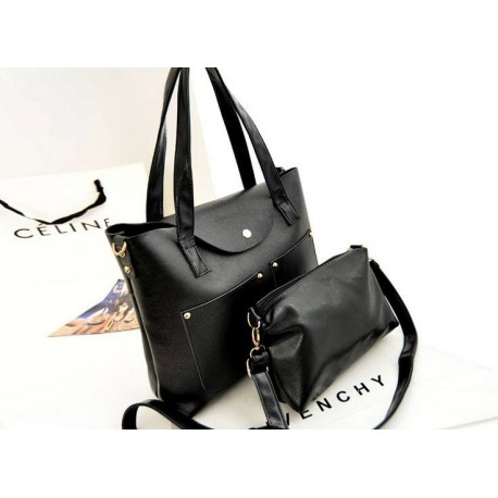 4110026 - 2 in  1 Fashionable Mummy Bag (Black)