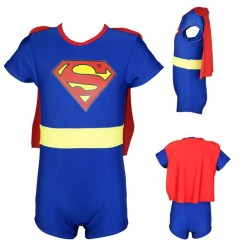 M171 - 3IN1 Superman Swimwear