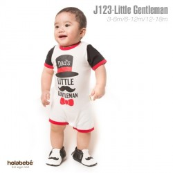 J123 - Dad's Little Gentleman