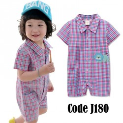 J180-Checkered Jumper (RED)