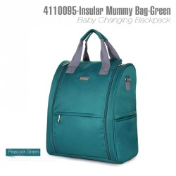 4110095 - INSULAR Mummy Backpack (GREEN)