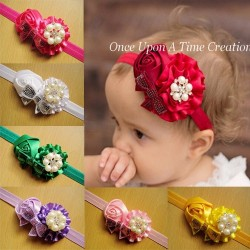 A412 - 2IN1 Europe Flower Headband