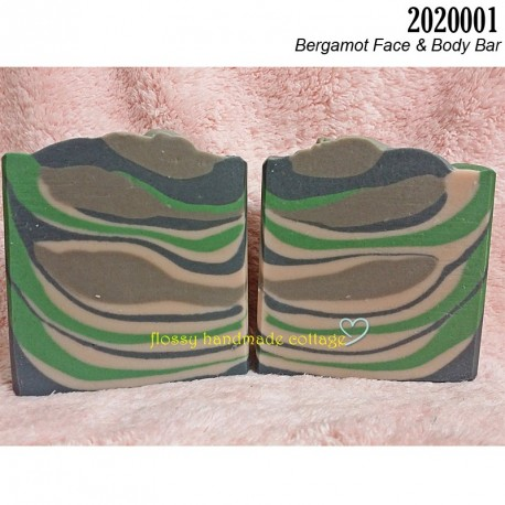 2020001 - Bergamot Face & Body Bar