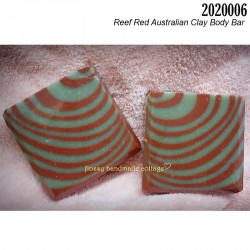 2020006 - Reef Red Australian Clay Body Bar