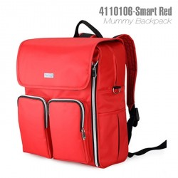 4110106 - HIGH QUALITY 2 Way Used Mummy Backpack (RED)