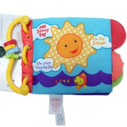 T212 - Teether Educational Book (ONE  SUNNY DAY)