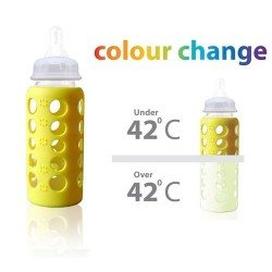 A445 - Natribottle glass 150ml colour change