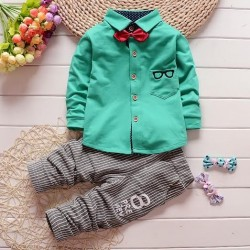 M179 - BOW TIE SET GREEN