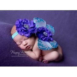 D367 - Butterfly Costume blue