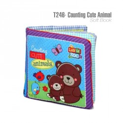 T246 - Soft Book Counting Cute Animal