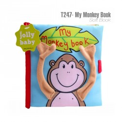 T247 - Soft Book My Monkey Book