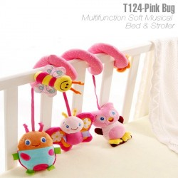 T124 - Baby music bed toy