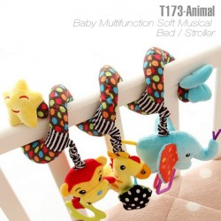 T173 - Baby Multifunction Soft Musical Bed / Stroller
