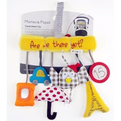 T259 - Musical Baby Travel Charm Toys Activity Rattles For Car Seat/Stroller/Crib/Pram