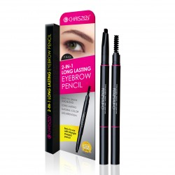 Chriszen 2 IN 1 Long Lasting Eyebrow Pencil 1.2g