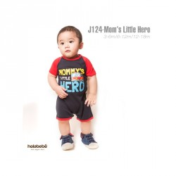 J124 - Mom's Little Hero Holabebe Jumper