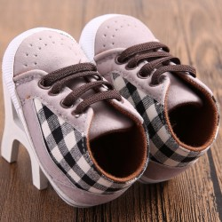 W274 - Prewalker Checkered Brown Black