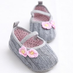 W275 - Prewalker Pink Flower Grey