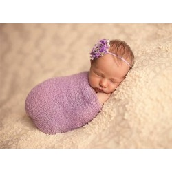 A481003 - Cheesecloth wrap (light purple)