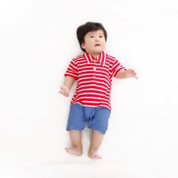 J205 - Jumper stripe style red