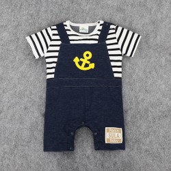 J206 - Jumper stripe sailor baby