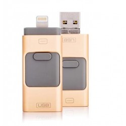 16GB Metal USB 3 in 1Flash Drive