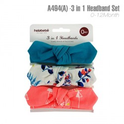 A494 (A)- 3 In 1 Headband Set