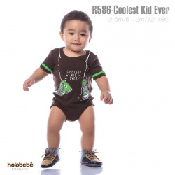 R586-Coolest Kid Ever Holabebe Romper