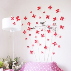 WS1119-3D Red Blossom