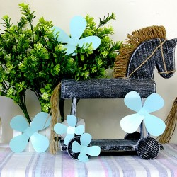 WS1120-3D Turquoise Blossom