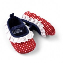 W121-Love Red Polka Dot