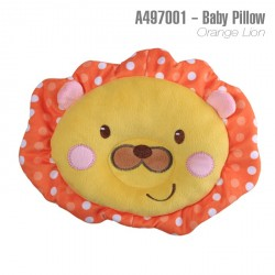 A497002-Baby Pillow -Orange Lion