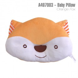 A497003-Baby Pillow -Orange Fox
