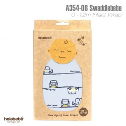 A354(06)-SwaddleBebe Adjustable Infant Wrap:Car