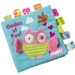 T286 - Baby soft book (owl)