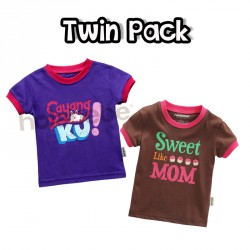 Twin pack - Sweet Like Mom & Sayangku