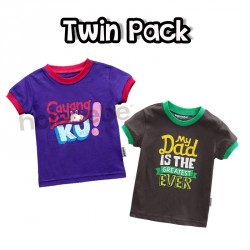 Twin Pack - Sayangku & Dad is the Greatest Ever