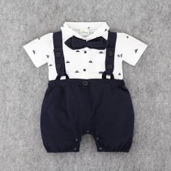 J208 - Jumper little gentlement navy blue