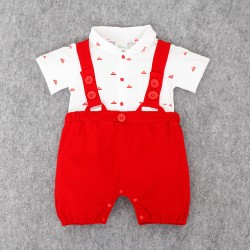 J209 - Jumper little gentlement red