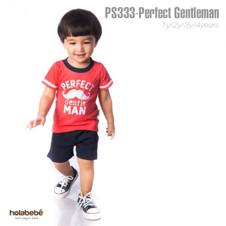 PS333-Perfect Gentle Man Holabebe Baby Suit