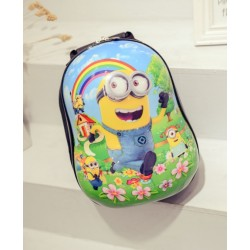 Hardcover backpack minion