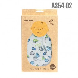 SwaddleBebe Adjustable Infant Wrap: Stop car