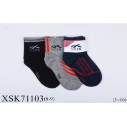 Bamboo kids sock (8y-9y)